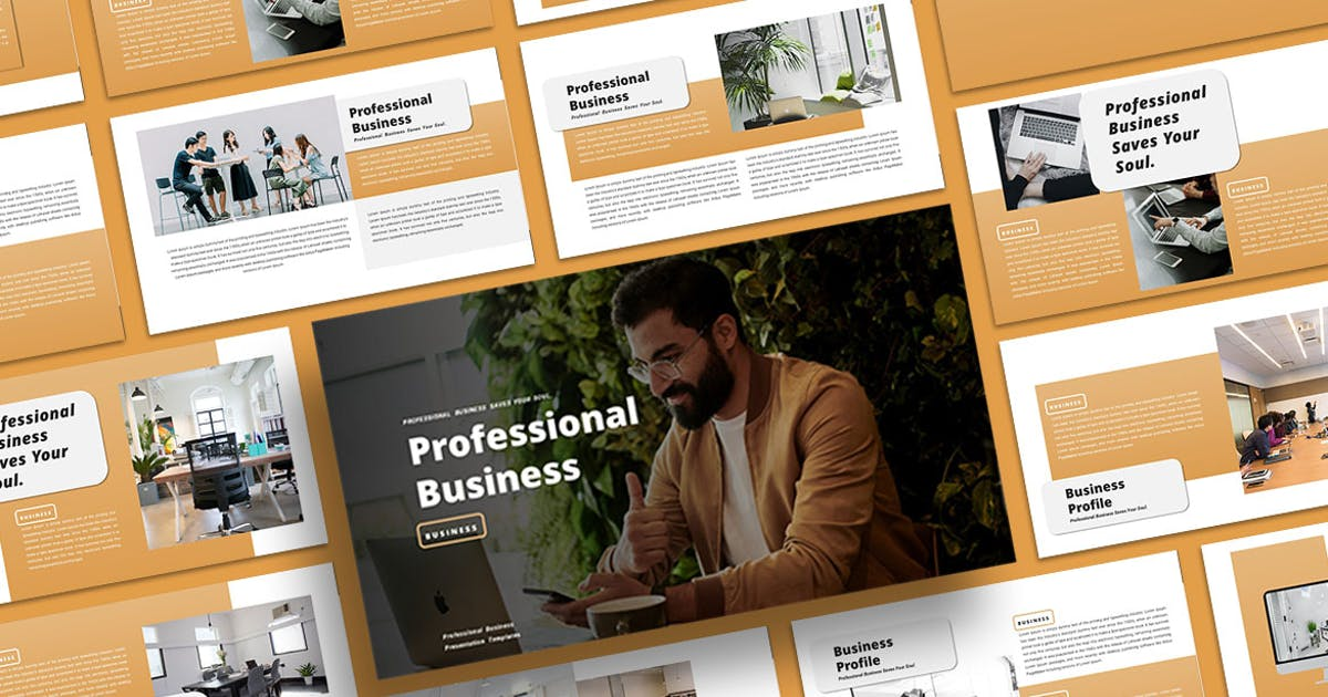 Download Professional Business - PowerPoint Template by alonkelakon