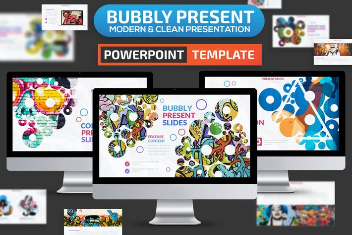 Thumbnail for Bubbly Powerpoint Presentation Template
