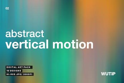 Abstrakte vertikale BewegHintergründe 02
