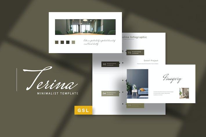 Thumbnail for Terina - Brand Guideline Google Slides