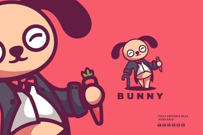 Thumbnail for Bunny Cartoon Character Logo