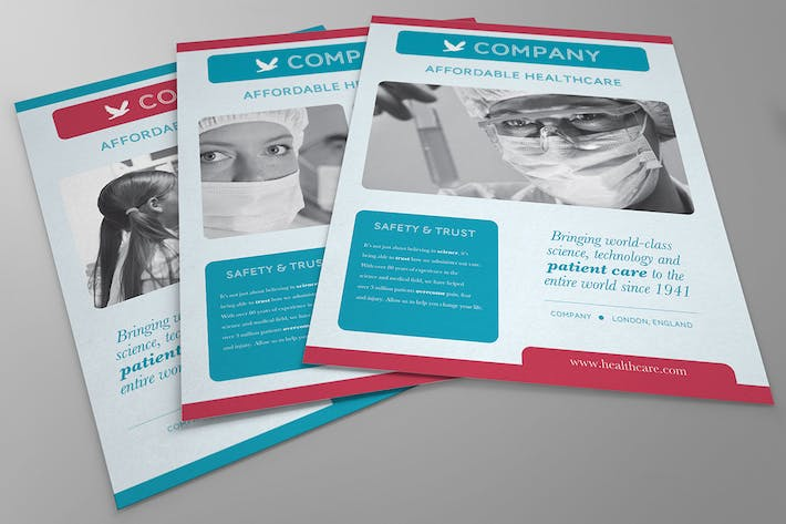 Thumbnail for Health & Medical Flyer
