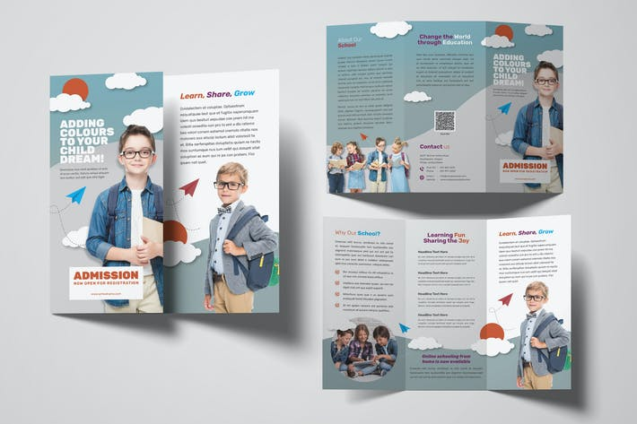 Thumbnail for Student Trifold Brochure