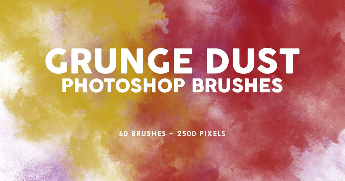 Download 60 Grunge Dust Photoshop Stamp Brushes by M-e-f