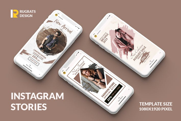 Thumbnail for Fashion R1 Instagram Story Template