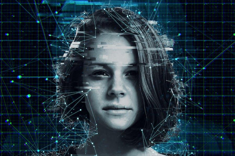 Искусственный интеллект 3 Photoshop Действие