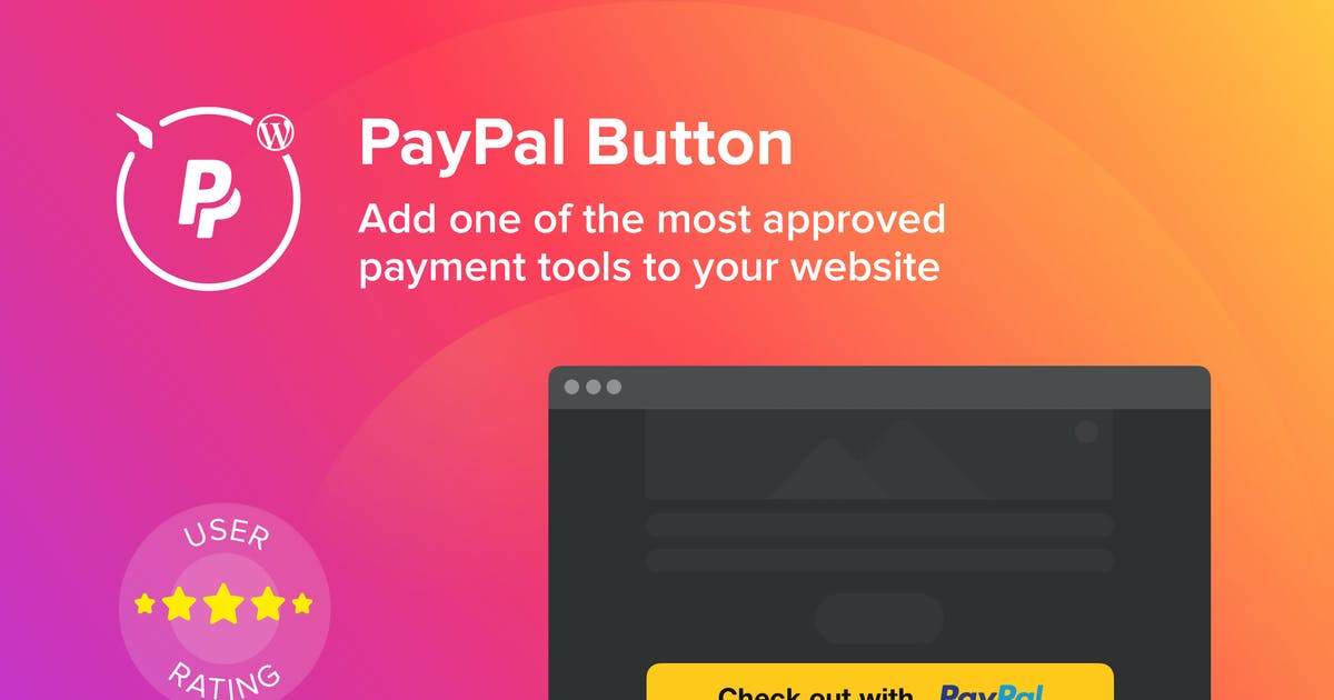 Download WordPress PayPal Button Plugin by Elfsight
