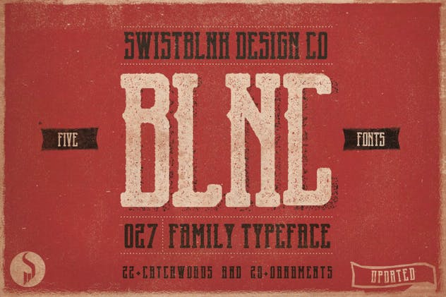 Blnc Family Typeface - product preview 0