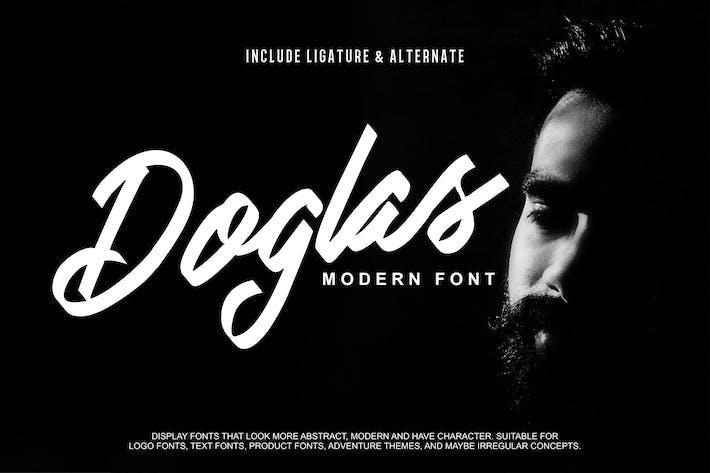 Thumbnail for Doglas | Modern Script Font