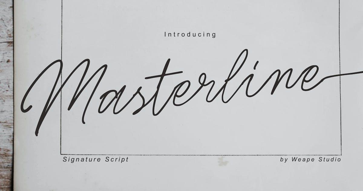 Download Masterline Signature Script by weapedesign
