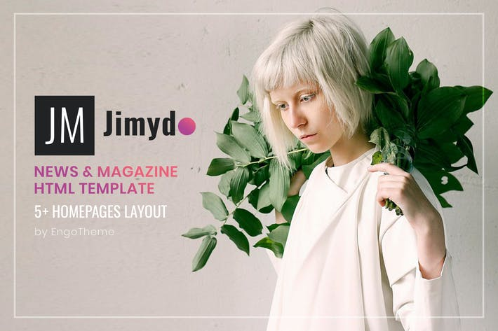 Thumbnail for JIMYDO | News & Magazine HTML Template