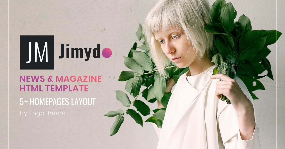 Download JIMYDO | News & Magazine HTML Template by EngoTheme