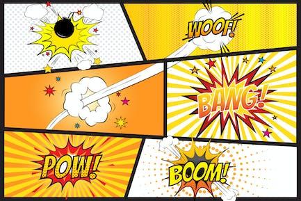 Comic Blaster Vector