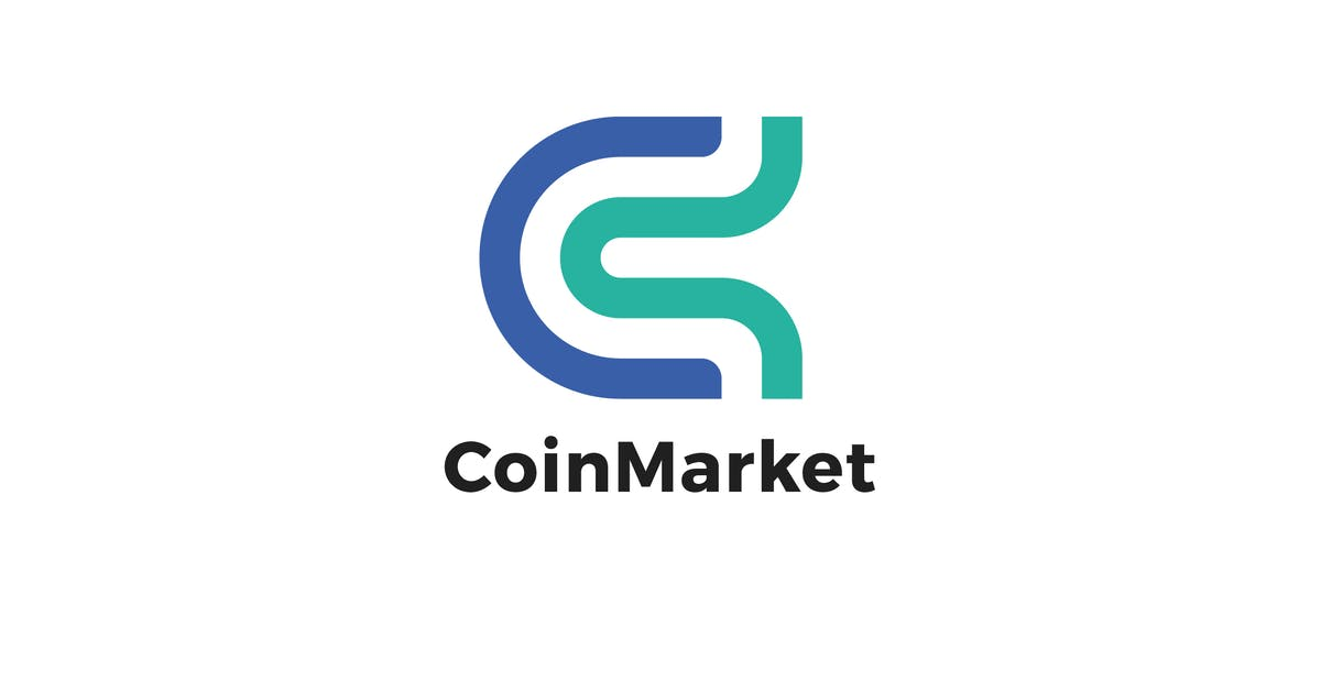 Download Coin Market C Letter Logo Template by MuseFrame