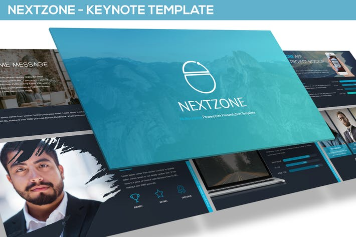 Thumbnail for NEXTZONE - KEYNOTE TEMPLATE