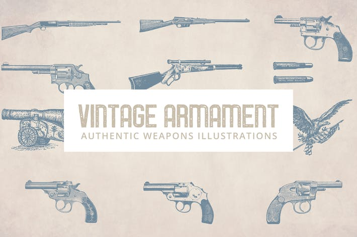 Thumbnail for Vintage Armament Illustrations