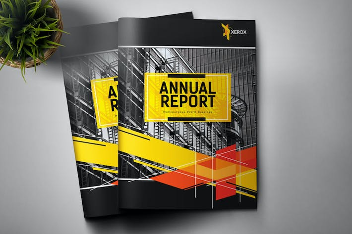Cover Image For Annual Report Corporate Brochure