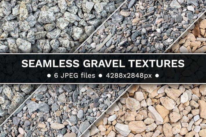 Thumbnail for Set von 6 nahtlosen Kies-Texturen