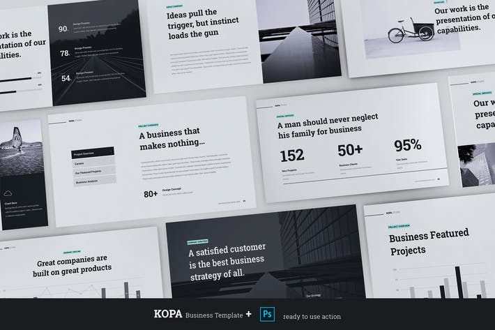 Thumbnail for KOPA - Business & Minimal Template (Google)