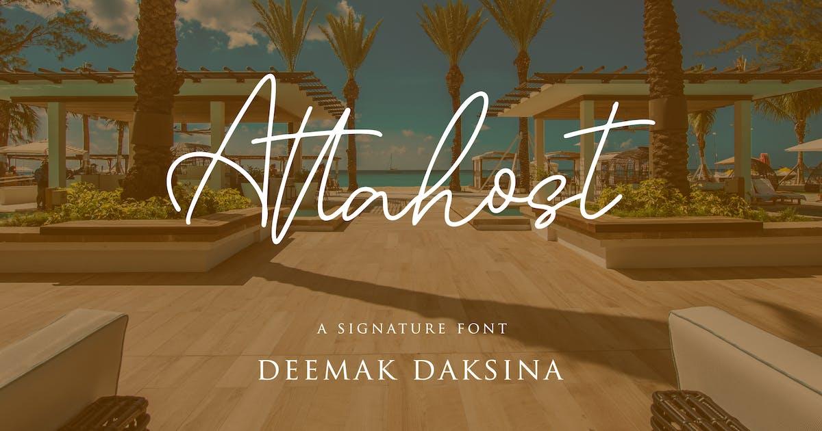 Download Attahost - Simple & Elegant Signature by deemakdaksinas