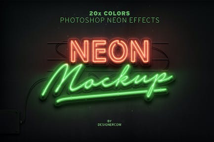 Neon Sign Effect
