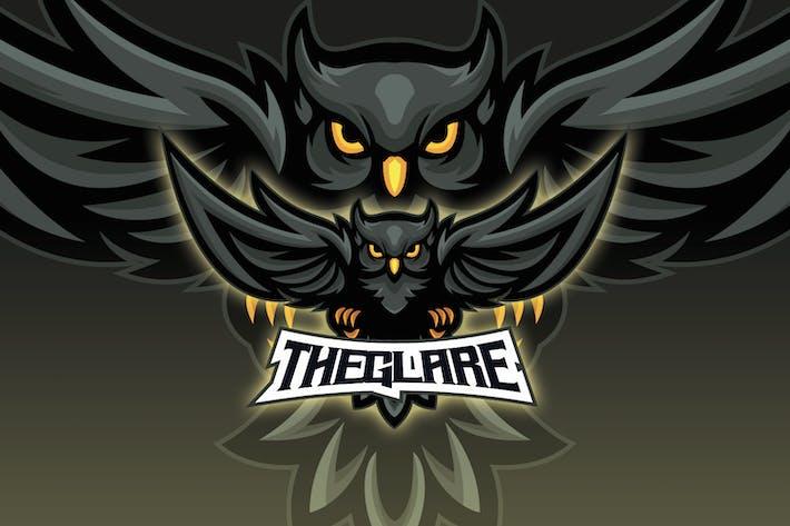 Thumbnail for Horned Owl Esport Logo
