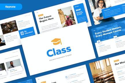 CLASS - Education Keynote Template