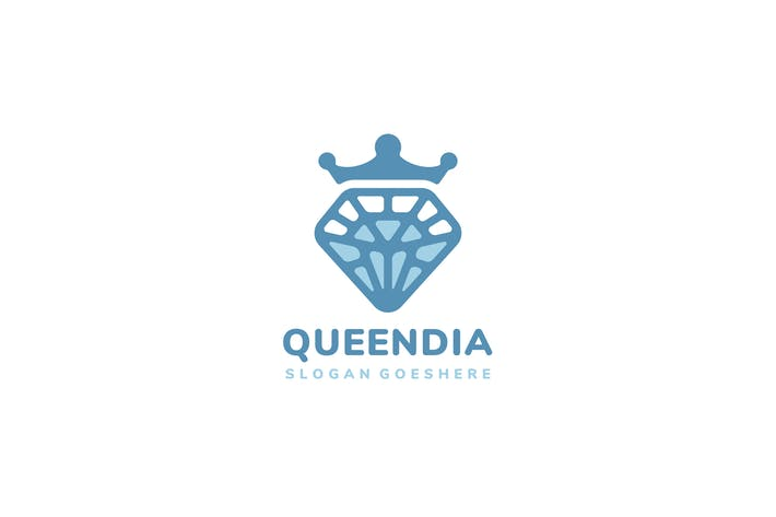 Thumbnail for Логотип Queen Diamond