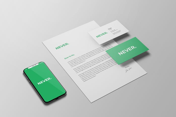Thumbnail for Stylish Stationery Mockup