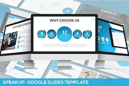Speaker Up - Google Slides Template