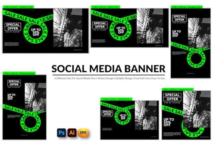 Special Offer Social Media Banner