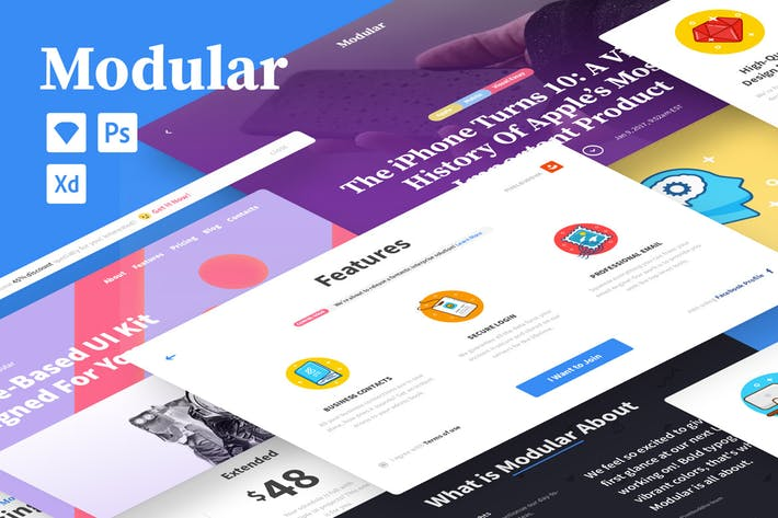 Thumbnail for Modular UI kit