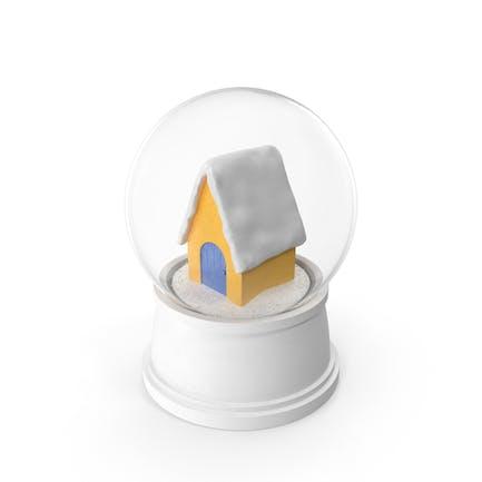 House Snow Globe