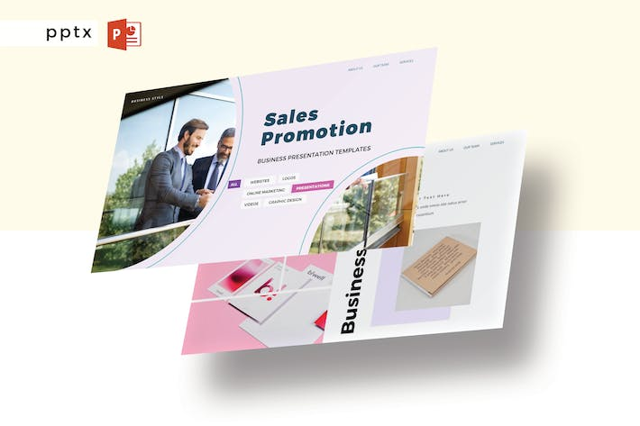Thumbnail for SALES PROMOTION - Powerpoint V437
