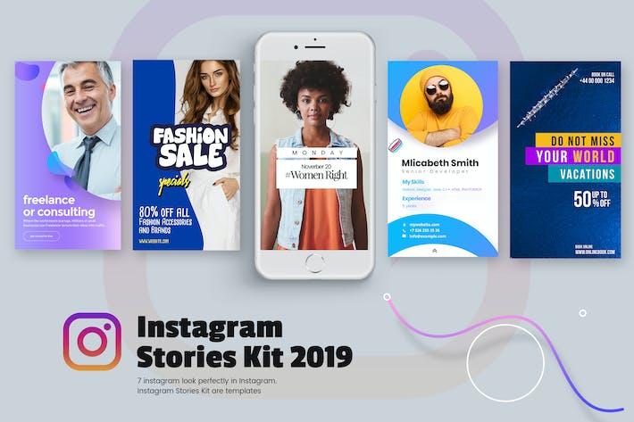 Thumbnail for Creative Instagram Stories Kit 2019