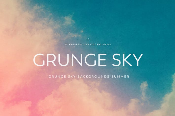 Thumbnail for Grunge SKY Backgrounds-summer