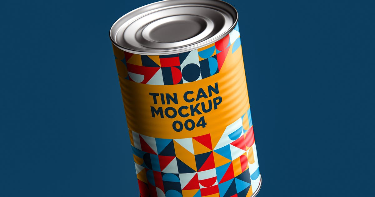 Download Tin Can Mockup 004 by traint