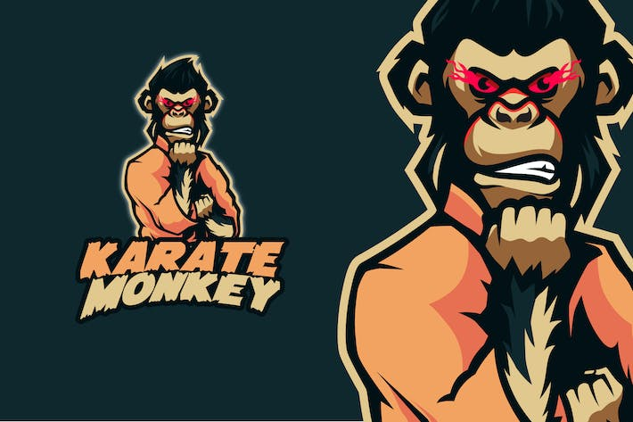 Thumbnail for Karate Monkey - Logo