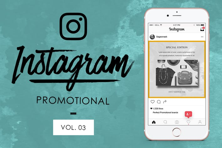 Thumbnail for 10 Instagram Promotional Vol. 3
