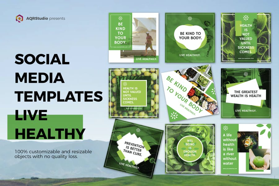 Healthy Life Media Banner