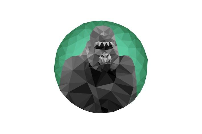 Thumbnail for Triangles Gorilla Portrait