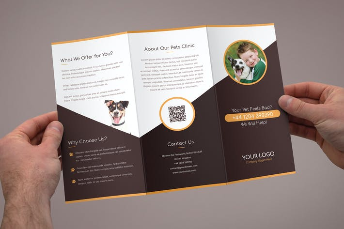 Thumbnail for Brochure – Pets Care Tri-Fold