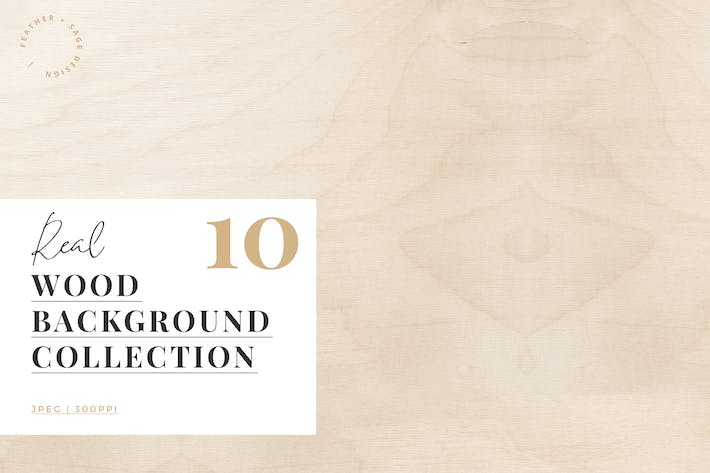 Thumbnail for Real Wood Background Collection
