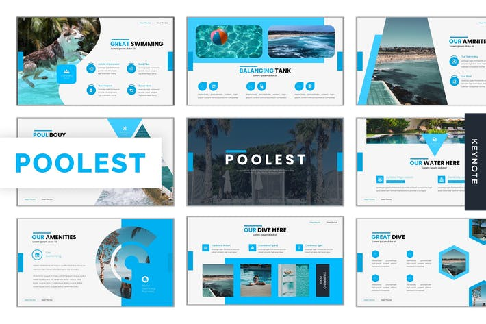 Thumbnail for Poolest - Keynote Template