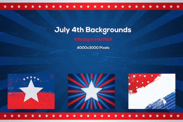 Thumbnail for July 4th Backgrounds