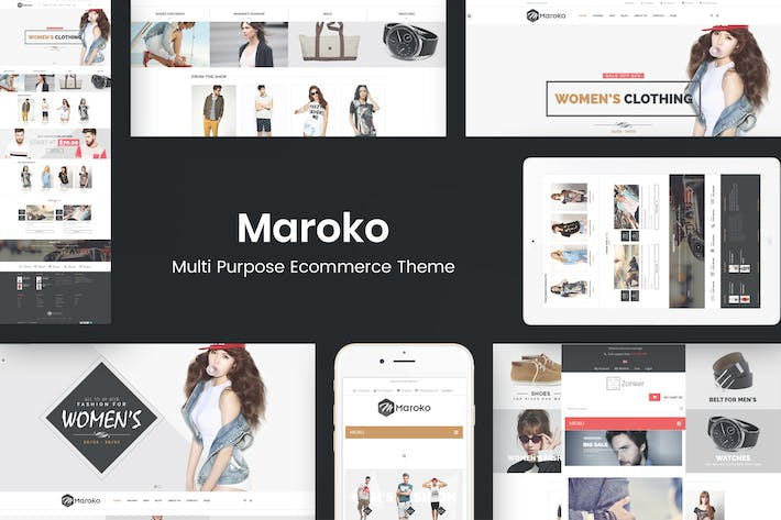 Thumbnail for Maroko - Responsive WordPress Fashion Theme