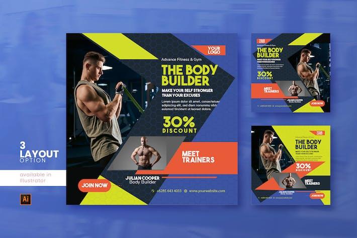 Thumbnail for The Body Builder Social Media Post