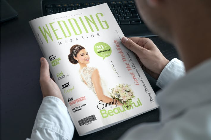 Thumbnail for Wedding Magazine Template