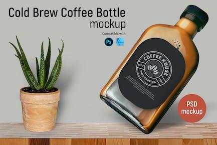 Cold Brew Kaffeeflasche Mockup