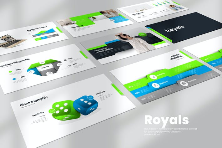 Thumbnail for Royals PowerPoint